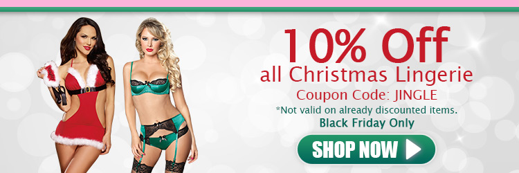10off Christmas Lingerie