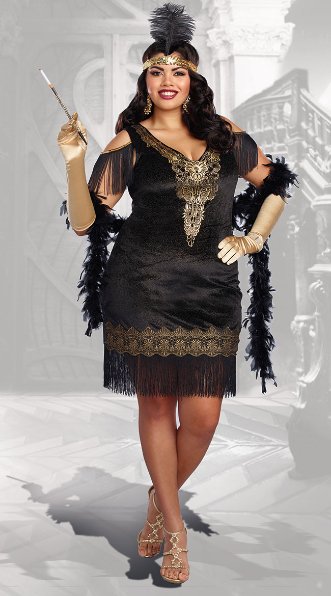 plus size down and dirty french maid costume quick view