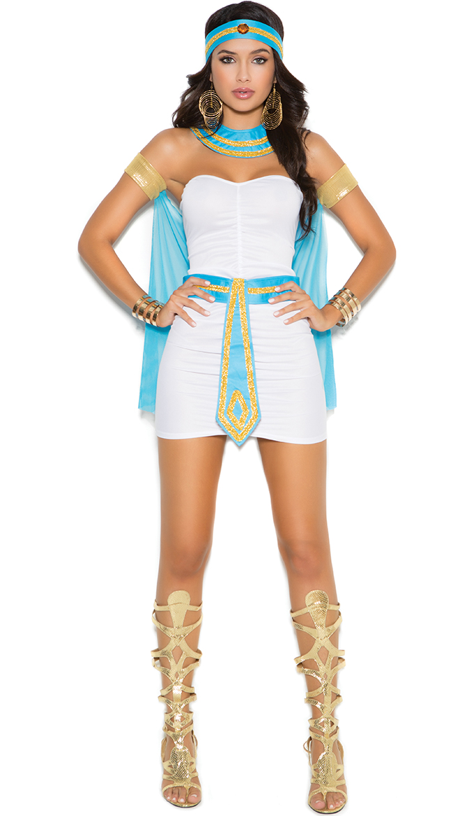 Goddess of the Nile Costume, Queen of the Nile, Egyptian Goddess ...