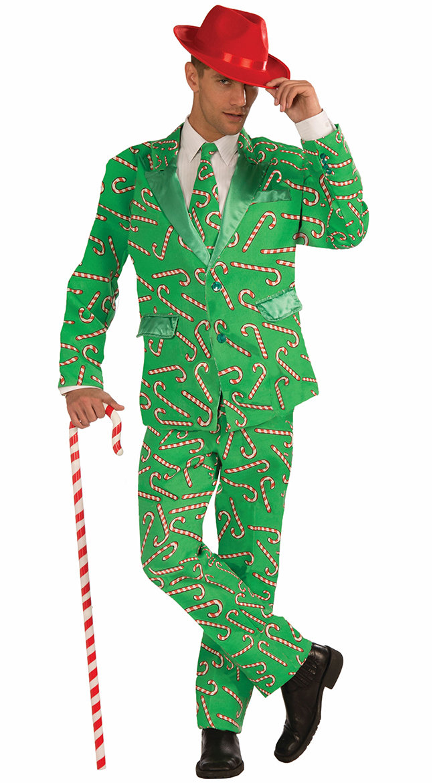Mr. Candy Cane Suit, Mr. Christmas Suit, Candy Cane Suit