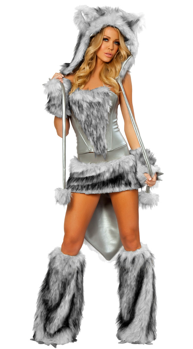 sexy wolf costume big bad wolf costume werewolf costume werewolf halloween costume - Halloween Costumes Wolf
