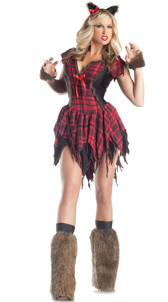 QUICK VIEW - Sexy Wolf Costumes, Wolf Halloween Costumes, Adult Wolf Costumes