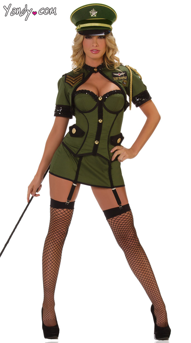 army general costume green army costume womens general costume