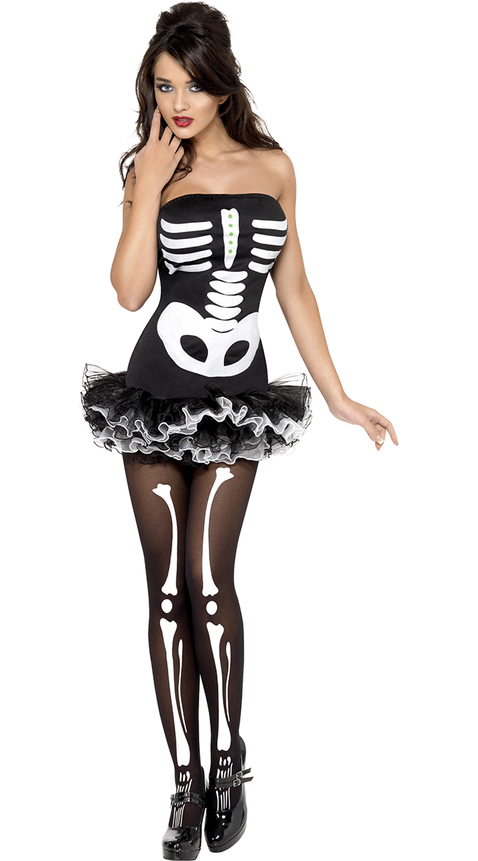 Sexy Skeleton Costumes, Skeleton Halloween Costumes, Womens ...
