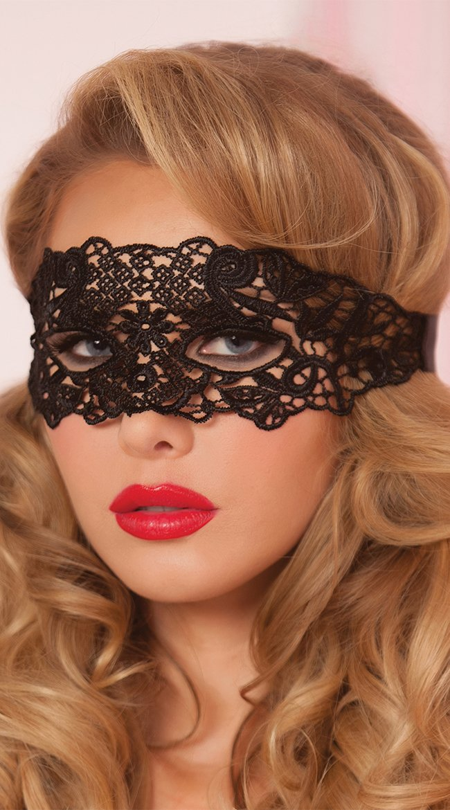 lace eye mask satin ribbon ties black os galloon lace eye mask marrow edge eye cut outs and satin ribbon ties holiday edition or valentines day lace - Black Eye Mask Halloween