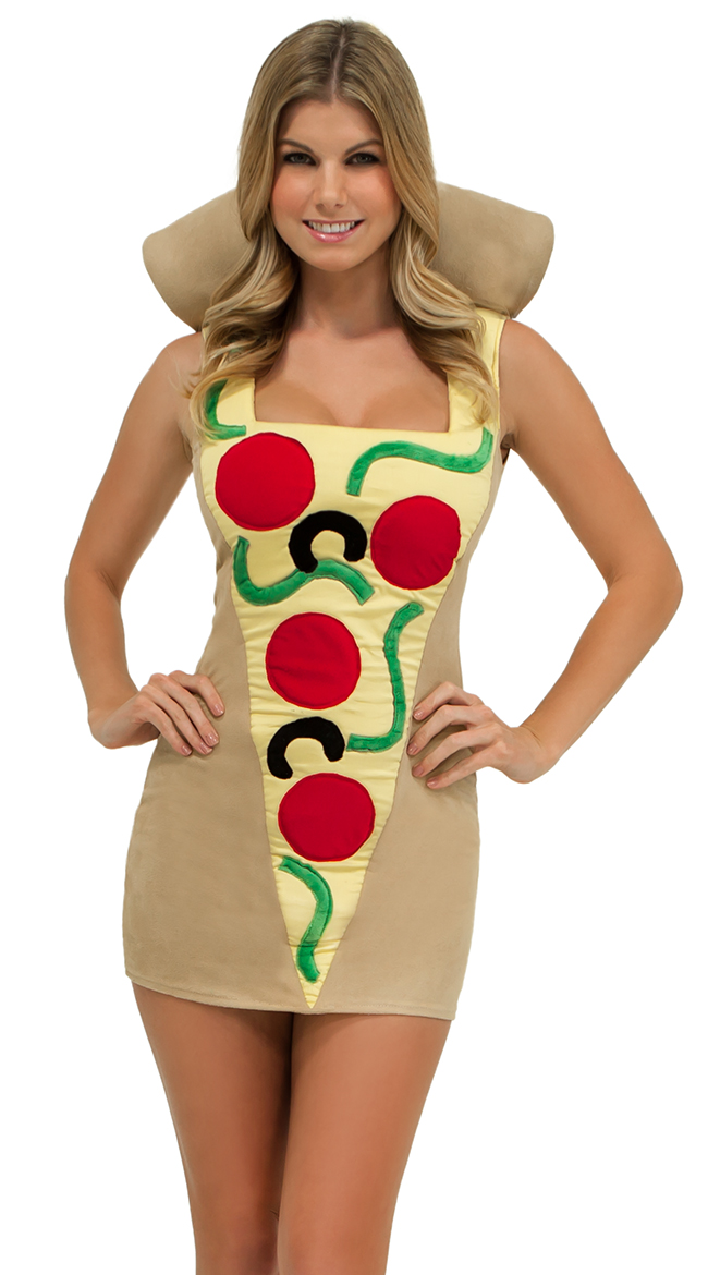 sexy pizza costume adult pizza costume pizza slice costume - Womens Halloween Costumes Not Skanky
