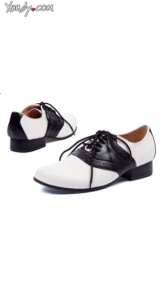 Women\'s Retro Oxford Lace Up Flats