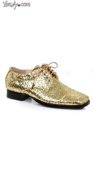 Men\'s Gold Glitter Dazzle Loafer