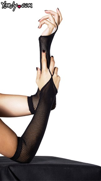 Fishnet Arm Warmers, Fishnet Lingerie, Fishnet Gloves