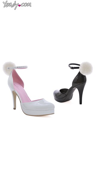 Playful Bunny Stiletto Pump, High Heel Shoes, Cheap Costume Shoes