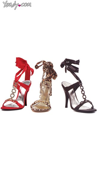 Sexy Ribbon Wrap Up Sandals, High Heels For Women, Cheap Shoes For Women