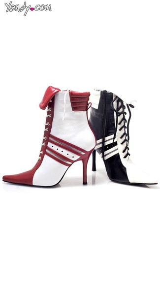 High Heel Game Day Referee Booties