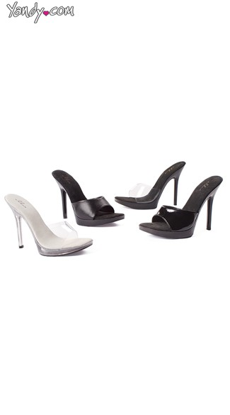 5 Inch Sexy Slide High Heel, Womens Shoes, Mule High Heels
