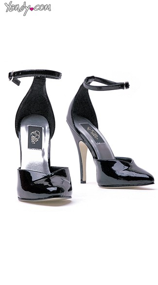 The Classic Pump in Glossy Black, Cheap Heels and Pumps, Hot Sexy Shoes