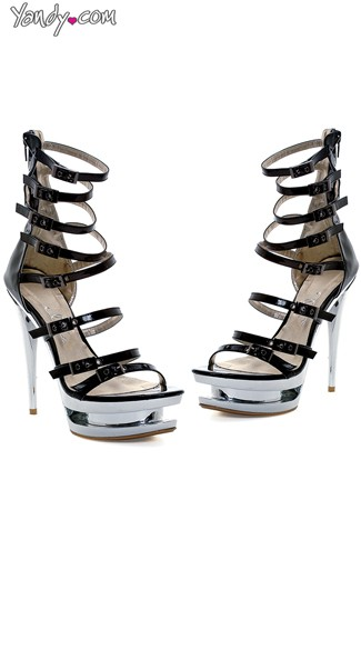 No Escaping Strappy Platform Stiletto