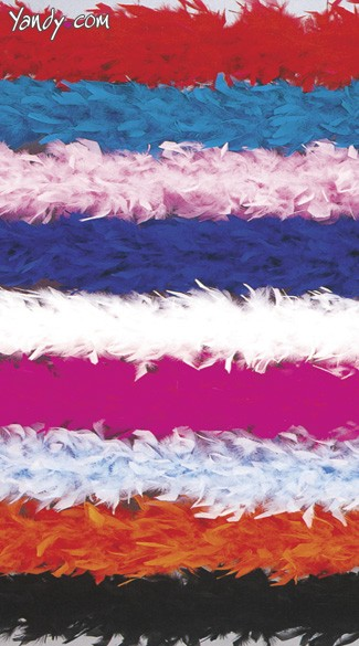 Six Foot Feather Boa, Solid Color Boa, Long Feather Boa, Color Boa