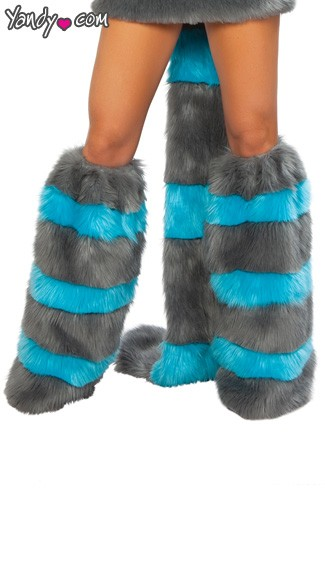Adult Cheshire Cat Leg Warmers