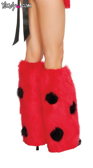 Lady Bug Legwarmers
