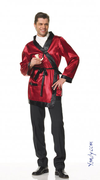 Hugh Hefner Costume, Hugh Hefner Halloween Costume, Ultimate Bachelor Costume