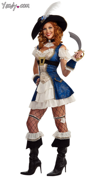 Bonnie Blue Pirate Costume