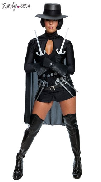 Sexy V For Vendetta Costume, V For Vendetta Womens Movie Costume