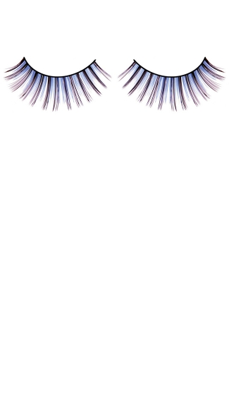 Blue and Purple Deluxe Eyelashes