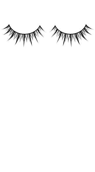 Black Sexy Premium False Eyelashes