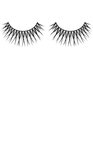 Hot Black Premium Fake Eyelashes