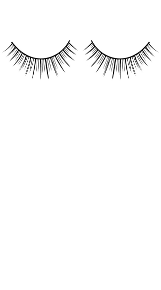 Black Deluxe Flirty Fake Eyelashes