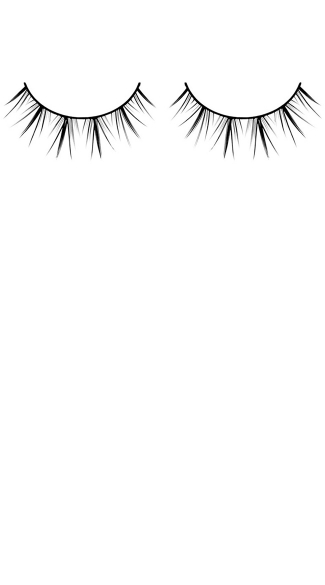 Black Premium Flirty False Eyelashes