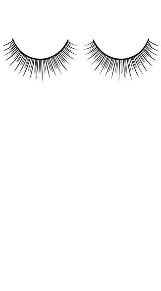 Natural Black Deluxe Fake Eyelashes