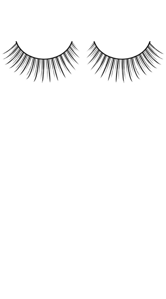 Beautiful Black Premium Fake Eyelashes
