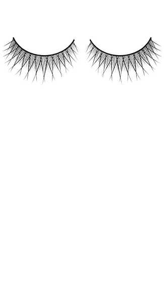 Thin Black Premium Eyelashes