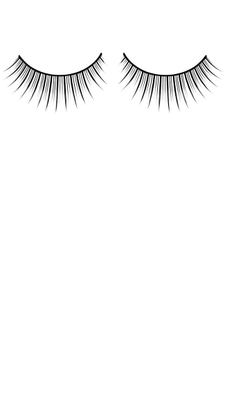 Delightful Black Premium Eyelashes