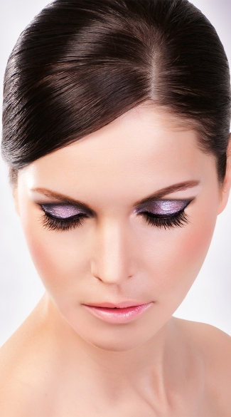 Subtle Black Premium Eyelashes, Black Premium False Eyelashes, Black Eyelashes