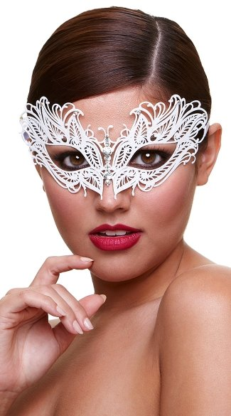 Icy Snow Queen Mask