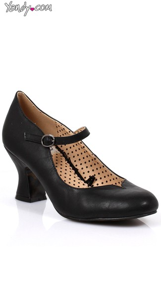 Victorian Mary Jane Heel