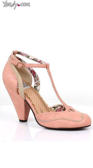 T-Strap Mary Jane Heel