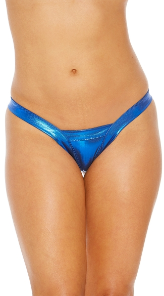 Metallic V-Dip G-String