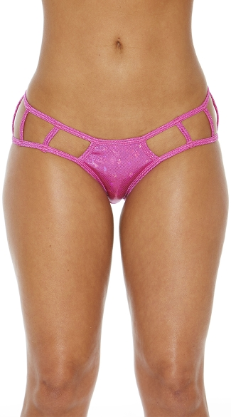 Cage Boyshort Panty with Cut Outs
