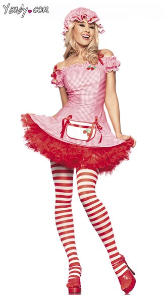 Sexy Strawberry Girl Costume