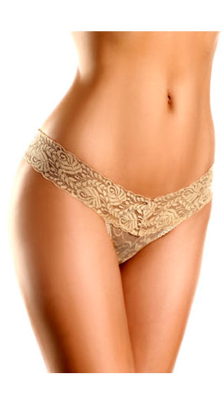 Lace V Cut Panties