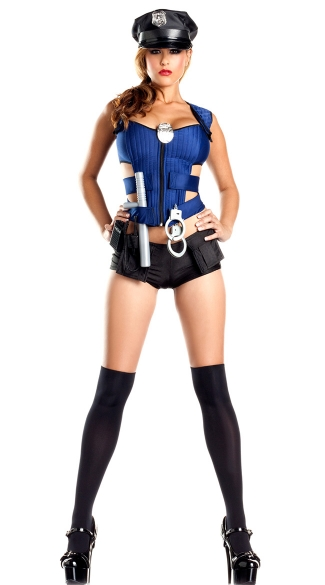 Sexy Rookie Cop Costume