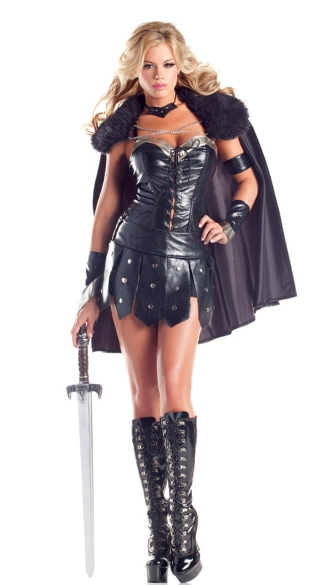 Sexy Warrior Princess Costume, Gladiator Costume for Women, Warrior Costume for Women, Roman Warrior Costume
