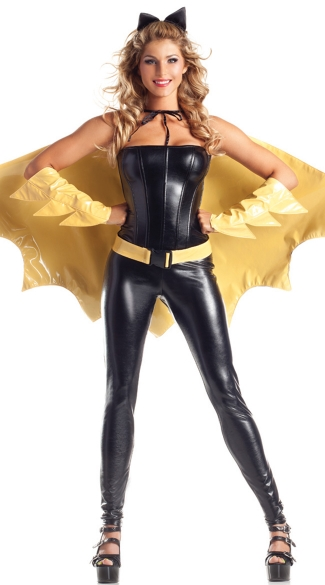 Crimefighting Cutie Costume, Sexy Costume for Women, Sexy Superhero Costume for Women
