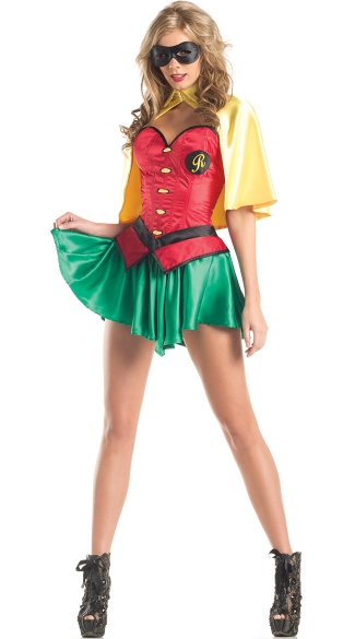 Sexy Super Sidekick Costume