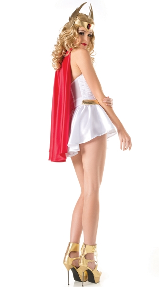 Sexy Cartoon Superhero Costume