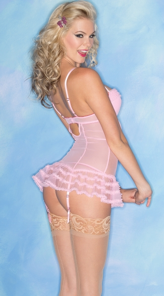 Sweet as Candy Pink Chemise