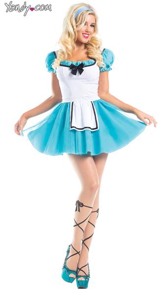 Wonderland Heroine Costume Sexy Alice Costume Sexy