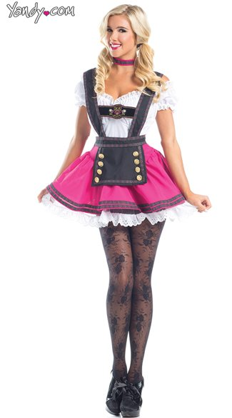 Swiss Beauty Costume, German Girl Costumes, Sexy German Girl Outfits